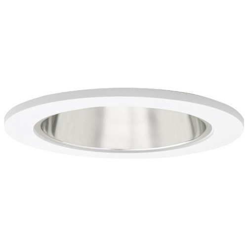 """120v 4"""" Reflector w/ Clear Glass Recessed Lighting Shower Trim"""
