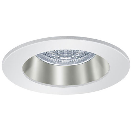 Shown with Chrome Reflector / Satin Nickel Trim Ring