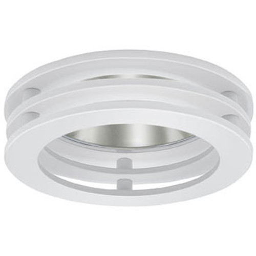 B1316 3 Tier Recessed Reflector Trim White on White
