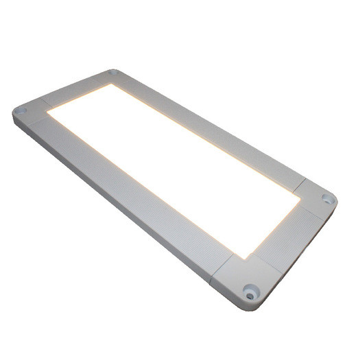 """Ultra Thin Dimmable LED Cabinet Light Shown Illuminated with 10"""" Length"""