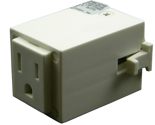 120v Outlet Adapter TA-170 White