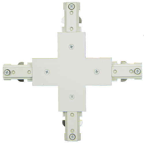 """120V """"X"""" Connector with Power Entry TA-108 White"""
