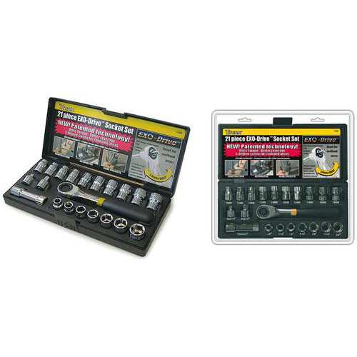21 piece EXO-Drive Socket Set