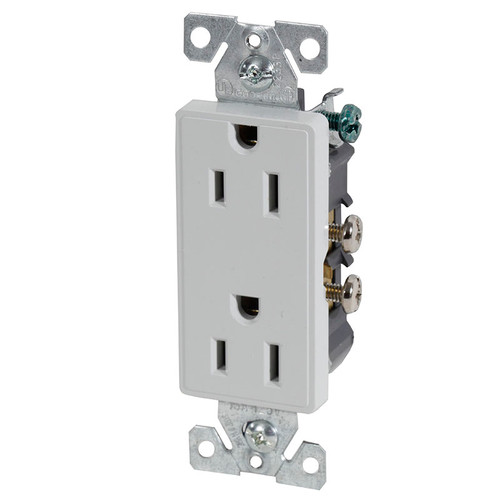 Decorator Duplex Receptacle