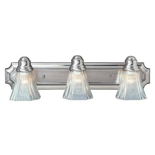 3 Light Brushed Nickel Bath Sconce 2503BN