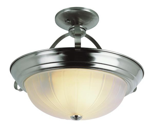 3 Light Brushed Nickel Ceiling Mount 13215BN