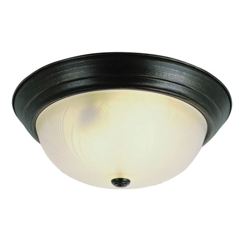 2 Light Rubbed Oil Bronze Ceiling Mount 58802ROB