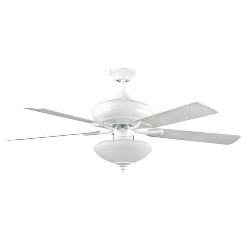 "52"" Valore White Ceiling Fan"