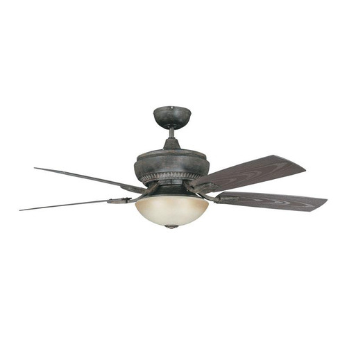 "52"" Boardwalk Aged Pecan Ceiling Fan"