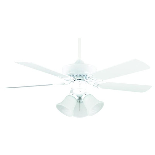 "42"" Hertiage Square White Ceiling Fan"