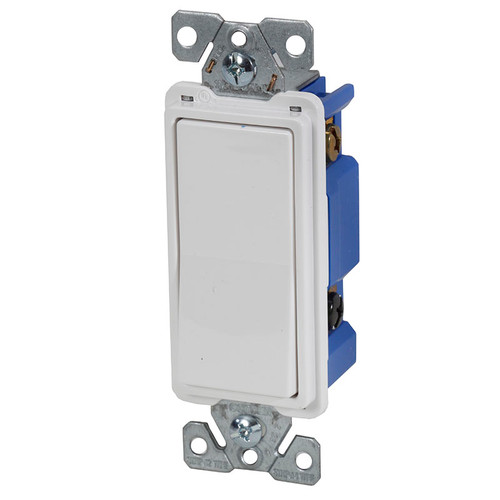 Single Pole Decorator Wall Switch 7501