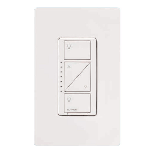 Shown in White (wallplate sold separately)