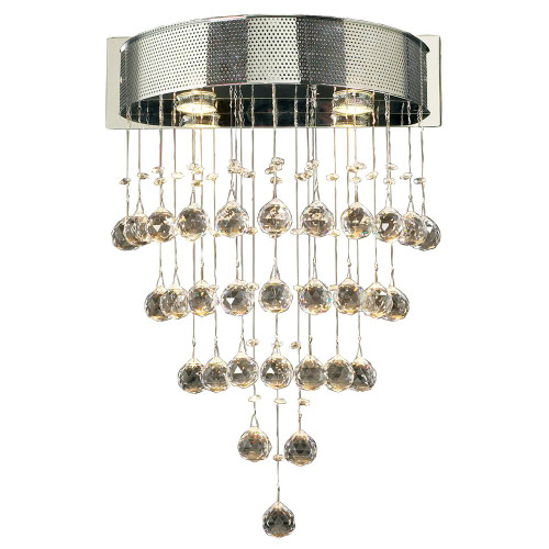 120V Beverly Designer Polished Chrome Pendant