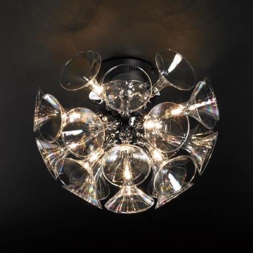 12V Martini Deisgner Polished Chrome Ceiling Light 81661-PC