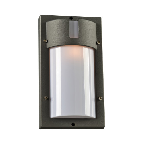 "120V Designer Dimmable Exterior Light - Jedi (12.5"" in bronze)"