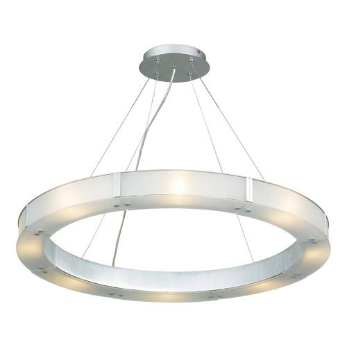 120V 8 Light Designer Hanging Pendant - Silar
