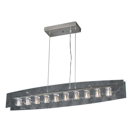 12V 10 Light Designer Hanging Pendant - Ice Cube