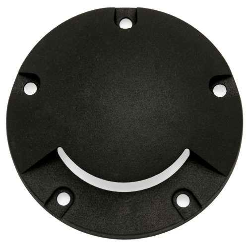 Cast Brass Mono-Directional Cover, Textured Black