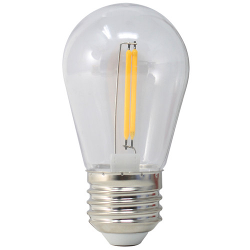 120V 1.5w Vintage LED Warm White S14 Light Bulb - BS14-ZY-1.5-27K