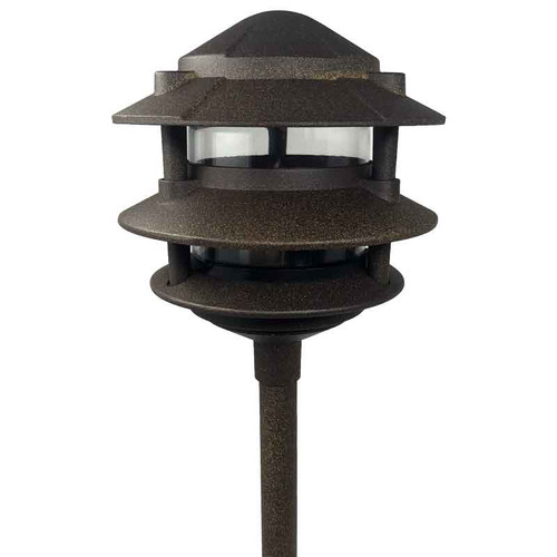 3-Tier Pagoda Green FOR A19 60W 120V OR A15 12V GREEN