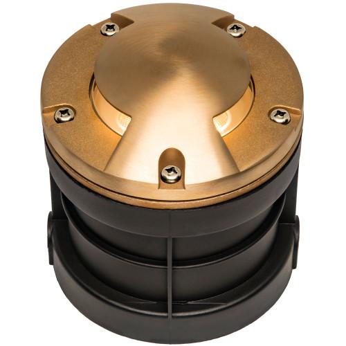Raw Brass Well Light Cover