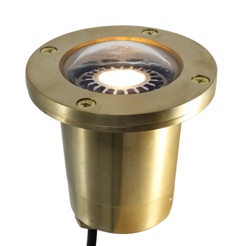Cast Brass NSC In Ground Well Light (Bulb Not Included)