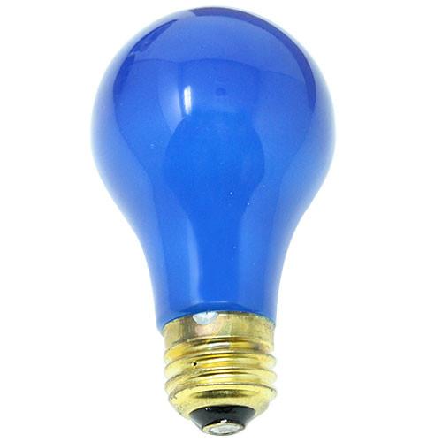120V 25w Ceramic Blue A19 Light Bulb