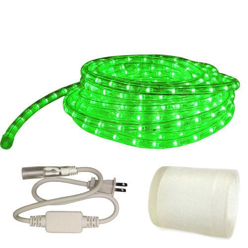 Custom Cut LED 513 Green Rope Light