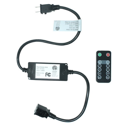 120V In Line 350w Dimming Controller & Remote Kit