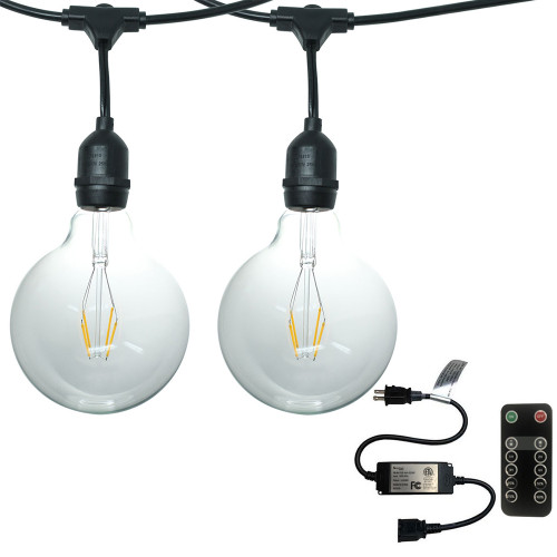Kit Includes 2 String Lights and an In Line Dimmer