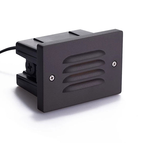 Small Recessed Grill Covered Step Light