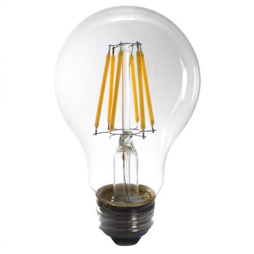 12V 5w Warm White Vintage LED A19 Light Bulb 400 Lumens - AQ-12V-A19508027
