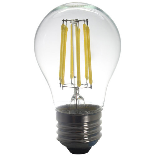 120V 5w Vintage Style Moon White LED A15 Bulb 450 Lumens  - 5-Pack - AQ-120V-A15508041-5PK