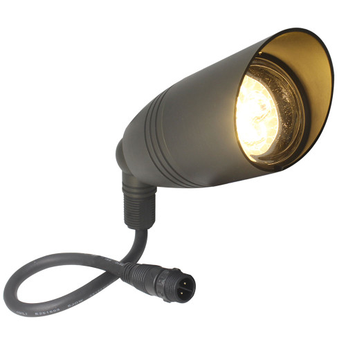 Product Shown with Warm White Bulb On