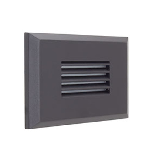 Angle Horizontal Louvered in Black