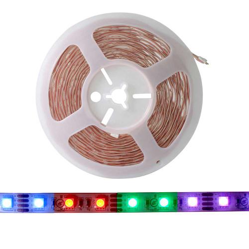 RGB LED Strip 60 LEDs per meter w/ Strip On
