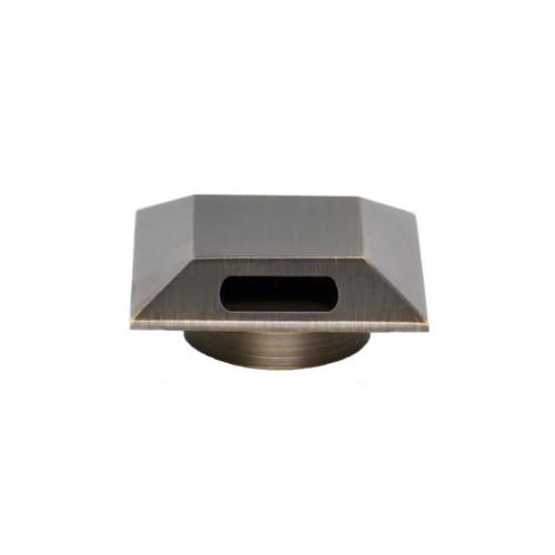 12V LED Brass Directional Recessed Light, Outdoor Floor & Step Lighting, Compact Mini Size, Modern Design - LAB-019