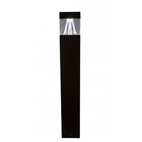 LED Bollard Shown In Black