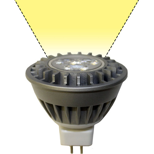 Mr16 Wide Flood: 60° Wide Flood Warm White MR16 Light Bulb