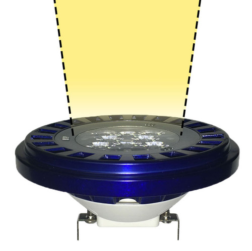 Warm White Led Par36 With 15 176 Spot Lens Aqlighting