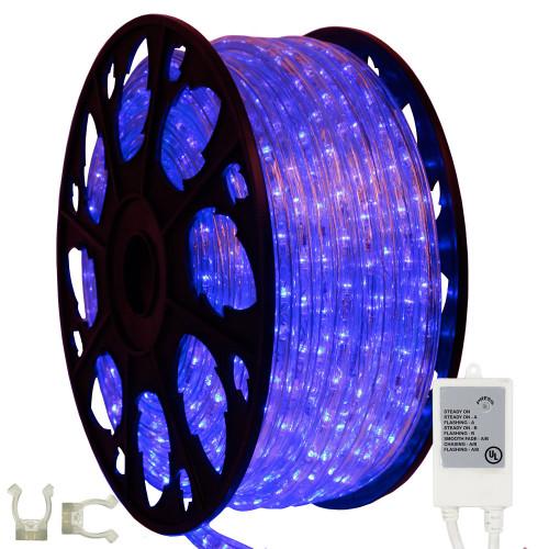 blue led rope light kit with controller aqlighitng. Black Bedroom Furniture Sets. Home Design Ideas