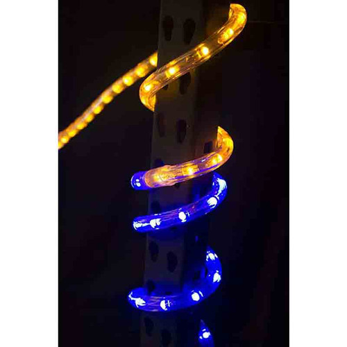 Blue And Gold Led Rope Light Sports Colored Aqlighting