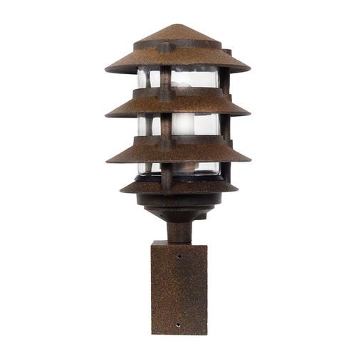 4 Tier Fluorescent Pagoda Area Post Light Aqlighting