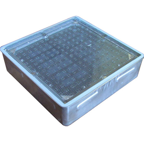 7 8 Quot Large Square Solar Led Accent Paver Light Sl10 By Solar