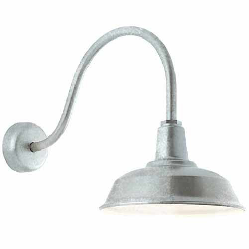 Heavy Duty Galvanized Outdoor Gooseneck Lighting Aqlighting