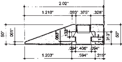 high durability floor to wall extrusion