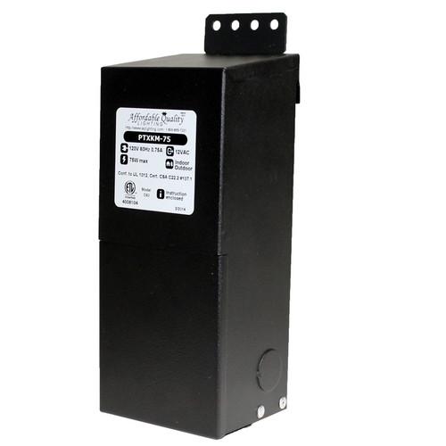 Low Voltage Indoor Lighting Systems: 75w Indoor Or Outdoor AC Transformer
