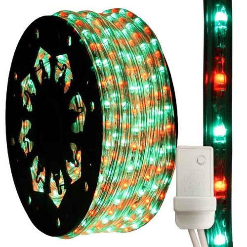 Bi Color Red Amp Green Led Chasing Rope Light Aqlighting