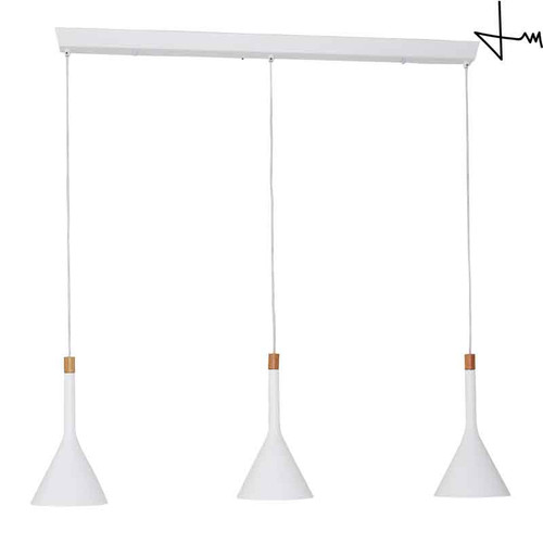 Thomas Mark Three Light Modern Design Hanging Pendant Kitchen Island Light Fixtures Cornucopia Series