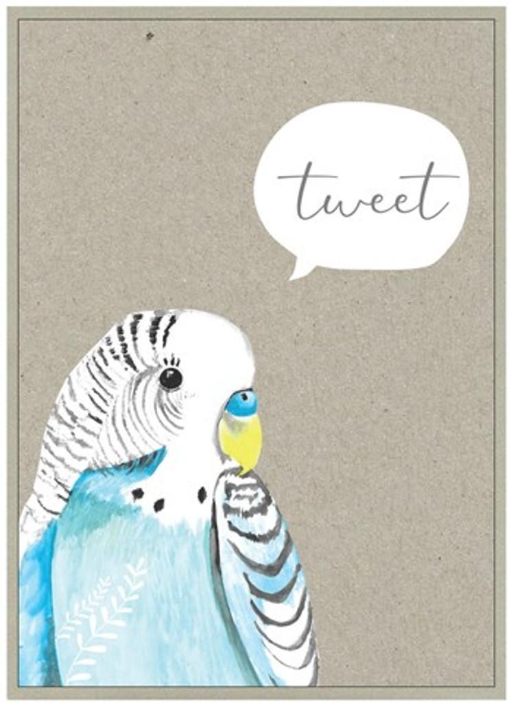 Tweet Birds Birthday Card - Cinnamon Aitch